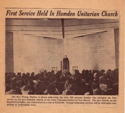 Our History – Unitarian Society of New Haven